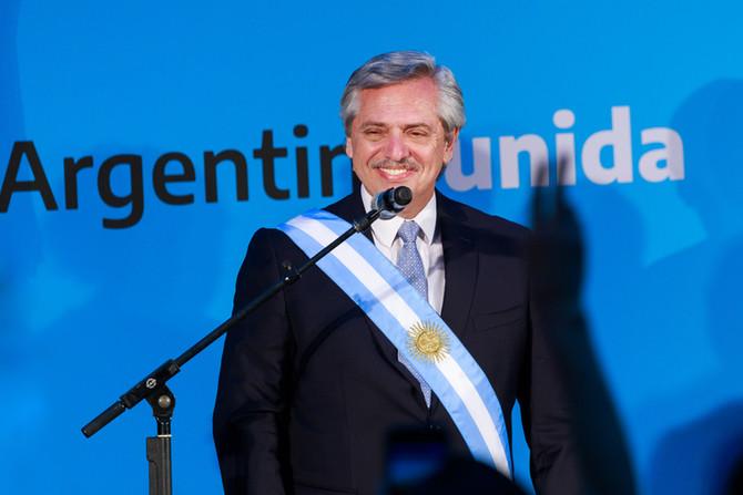 Asunción de Alberto Fernández