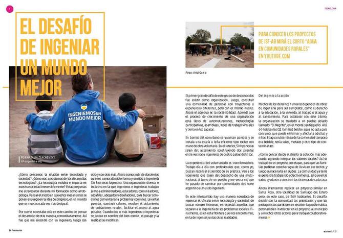 Foto // Publicación Revista Ecomanía #35