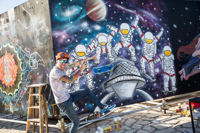 Foto // El Planetario se viste de colores