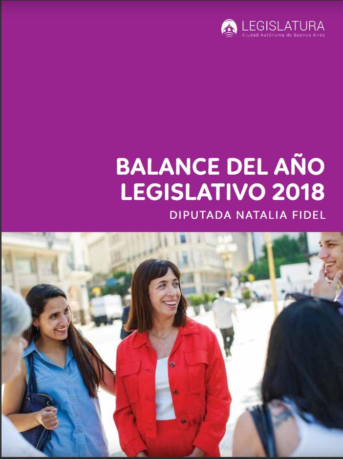 Fotos // Balance Legislativo Natalia Fidel