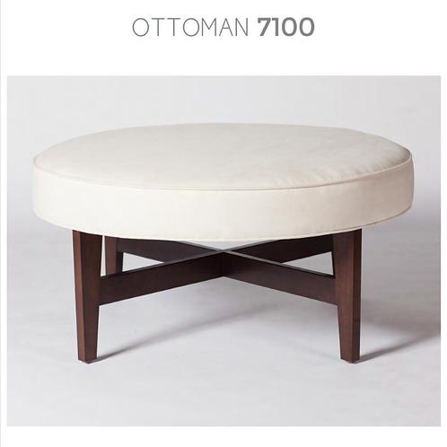 Order # 7100 (Round Upholstered)