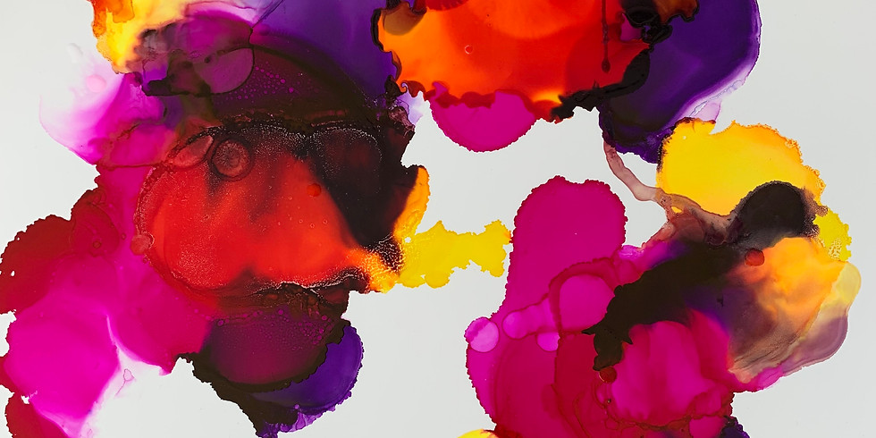 TWO HOUR Alcohol Ink Art Workshop