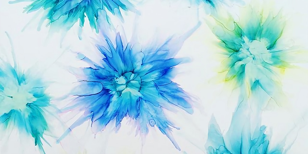 Alcohol Ink Workshop with Alecia