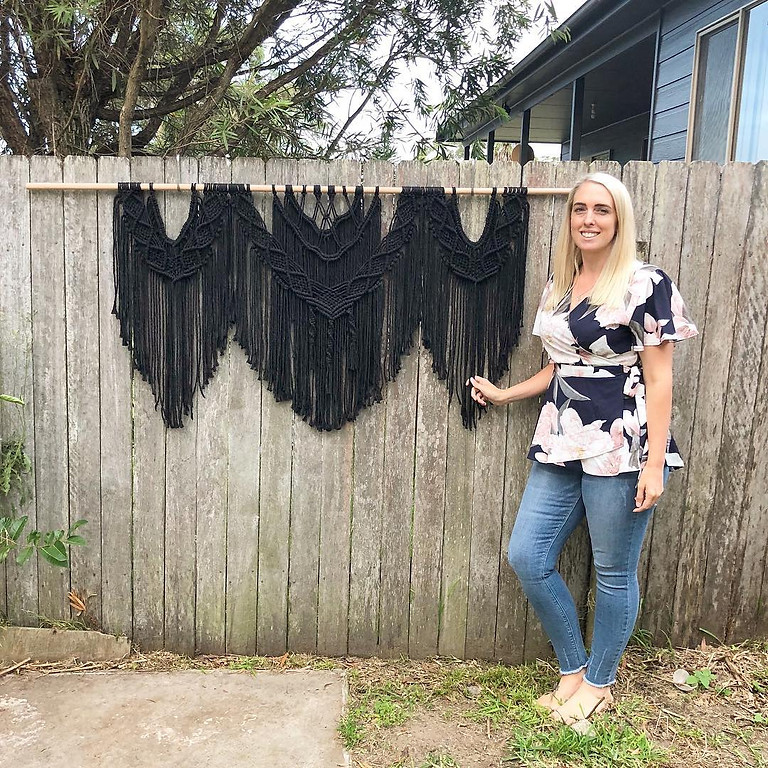 Macrame with Sara - SOLD OUT! - additional date: April 27th!