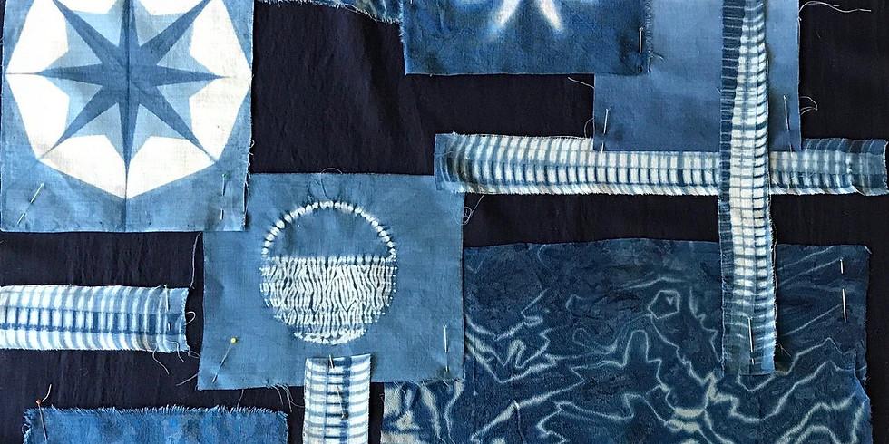 FULL DAY Indigo Shibori Dyeing Masterclass