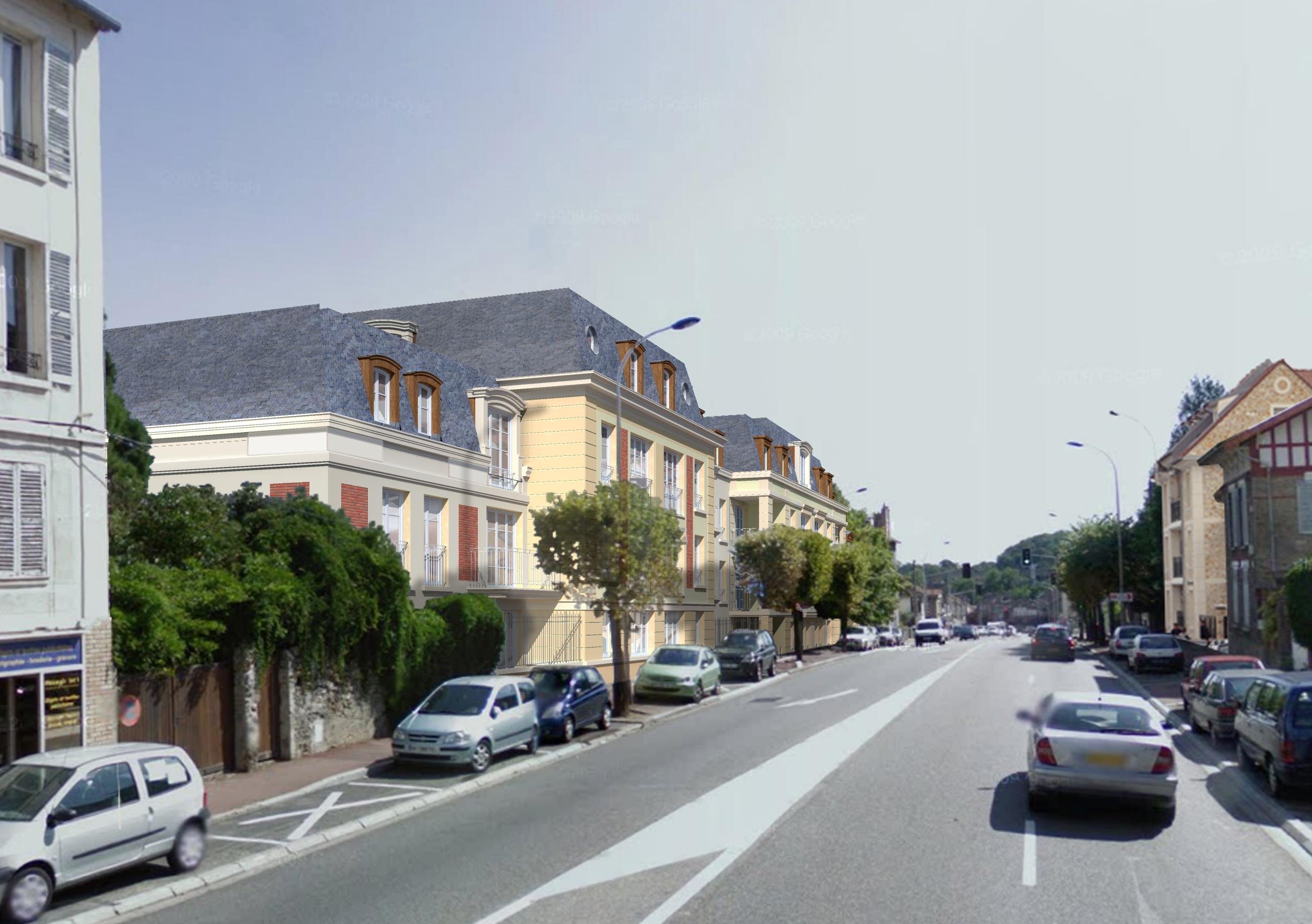 St-CyrLEcole rue Pierre Curie amont