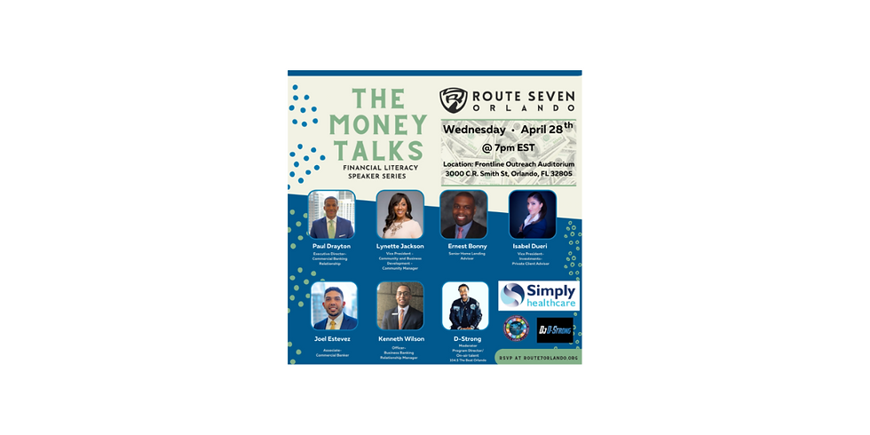 The Money Talks Speaker Series presented by Simply Healthcare
