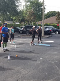 Pop Up Group Workout