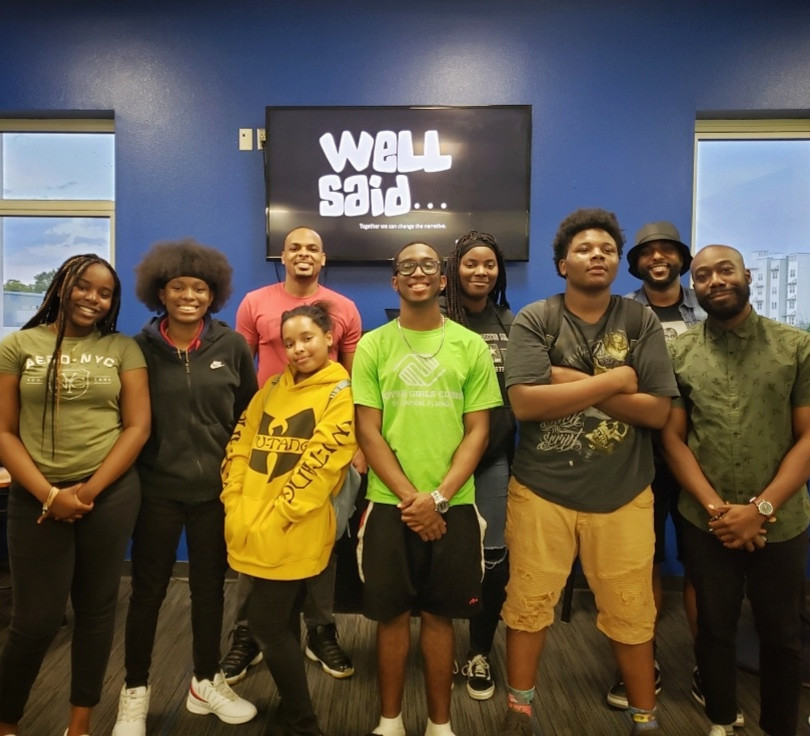 Well Said public speaking mentoring program at the Levy-Hughes Boy's & Girls Club