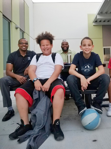Mentoring at Carver Middle School