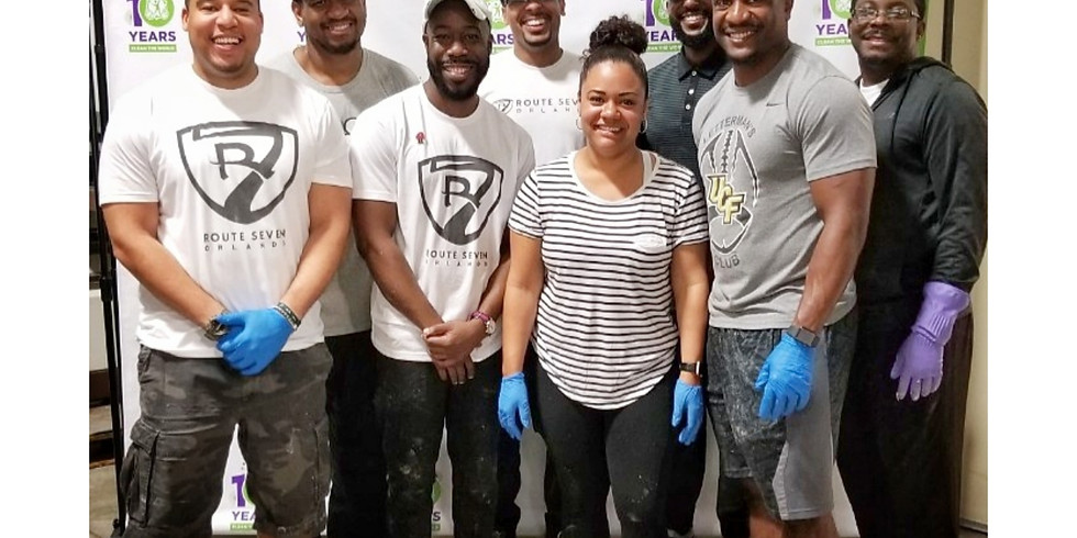 Give a Little - Route 7 Orlando Volunteer Event