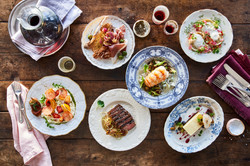 6-course fine dining
