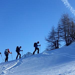 Skitouren  im Campilltal 15.-17.02.2019
