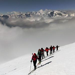 Skitour Maurerspitze Südtirol