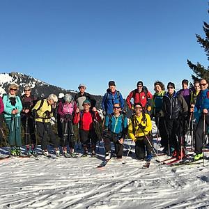Silvester-Skitour Vogelsang und Walleralm