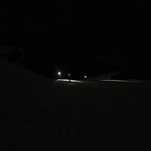 Vollmond-Skitour zum Harschbii
