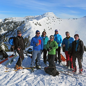 Skitour Geigelstein-Mühlhörndl 20.01.2019