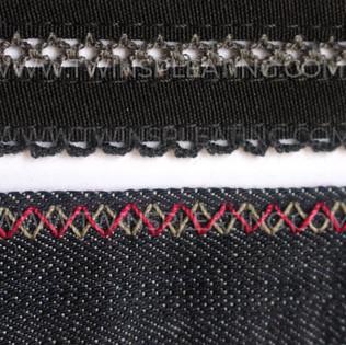 Crochet Stitch & Double Zig Zag
