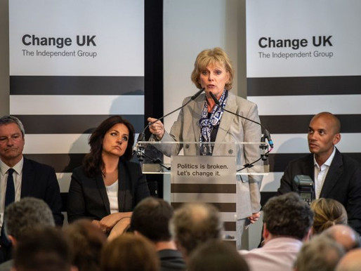 Lessons To Learn From Change UK