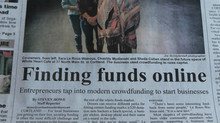 Featured on the Cover of the Cortland Standard