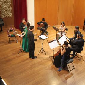"""""""Lluís Guarner: per què cantar a la terra i al mar?"""". Ensemble Col legno. Ateneo Mercantil (Valencia), 2014."""