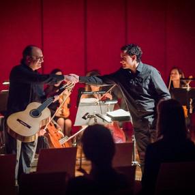 Rubén Parejo (guitar), Ensemble Opera Diversa. Mozart's Hall of Reduta Theater (Brno), 2017. Photo: Vít Kobza (2)