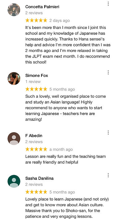 LingoClass-google reviews