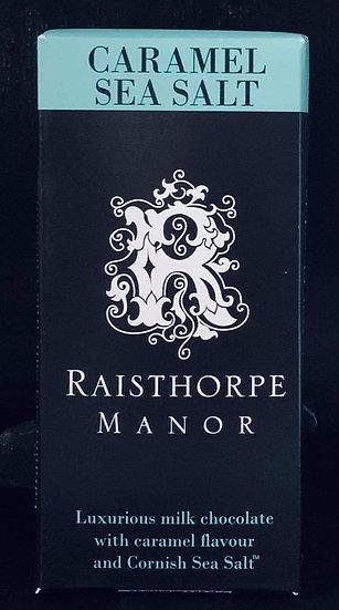 Raisthorpe Caramel Sea Salt Chocolate Bar