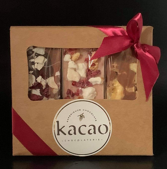 Kacao British Puddings Chocolate Bar Selection