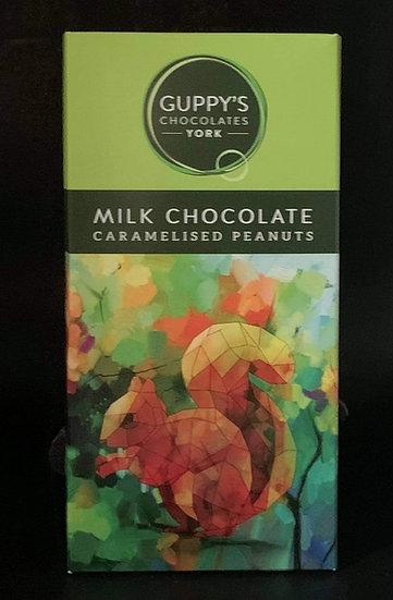 Milk Chocolate with Caramelised Peanuts
