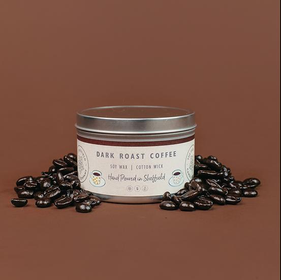 Dark Roast Coffee Soy Candle