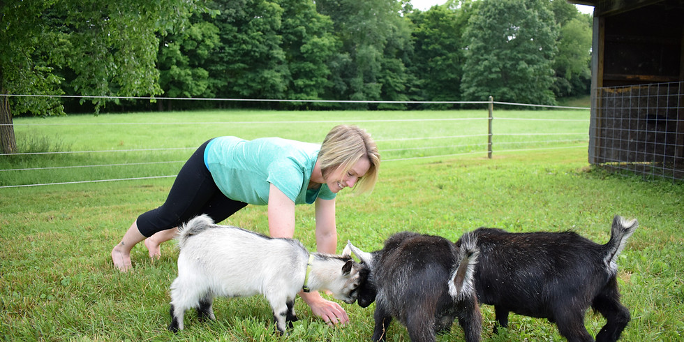 Goat Yoga June 1st