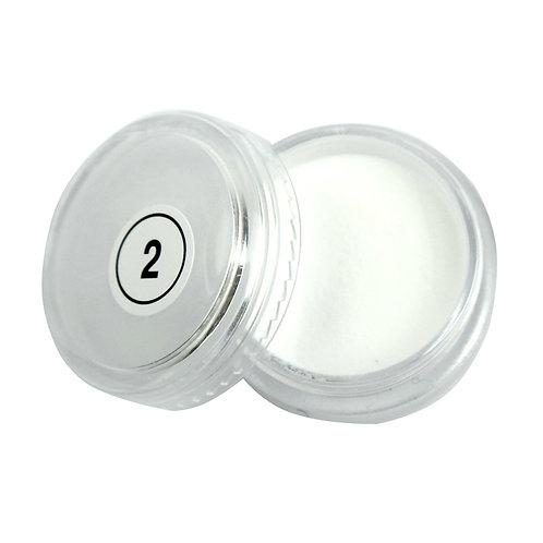 2.Пудра белая 2 мл