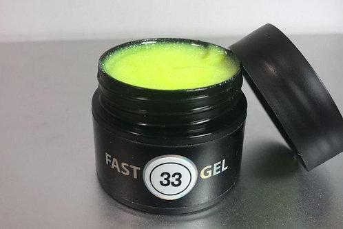 Fast Gel №33; 15 г