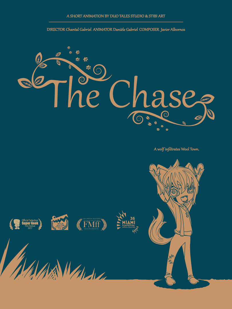 """Official Movie Poster for """"The Chase"""""""