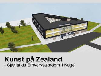 ZEALAND KØGE & STATENS KUNSTFOND / UDSMYKNING