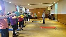 Gymnastique au Club des 9 Fontaines