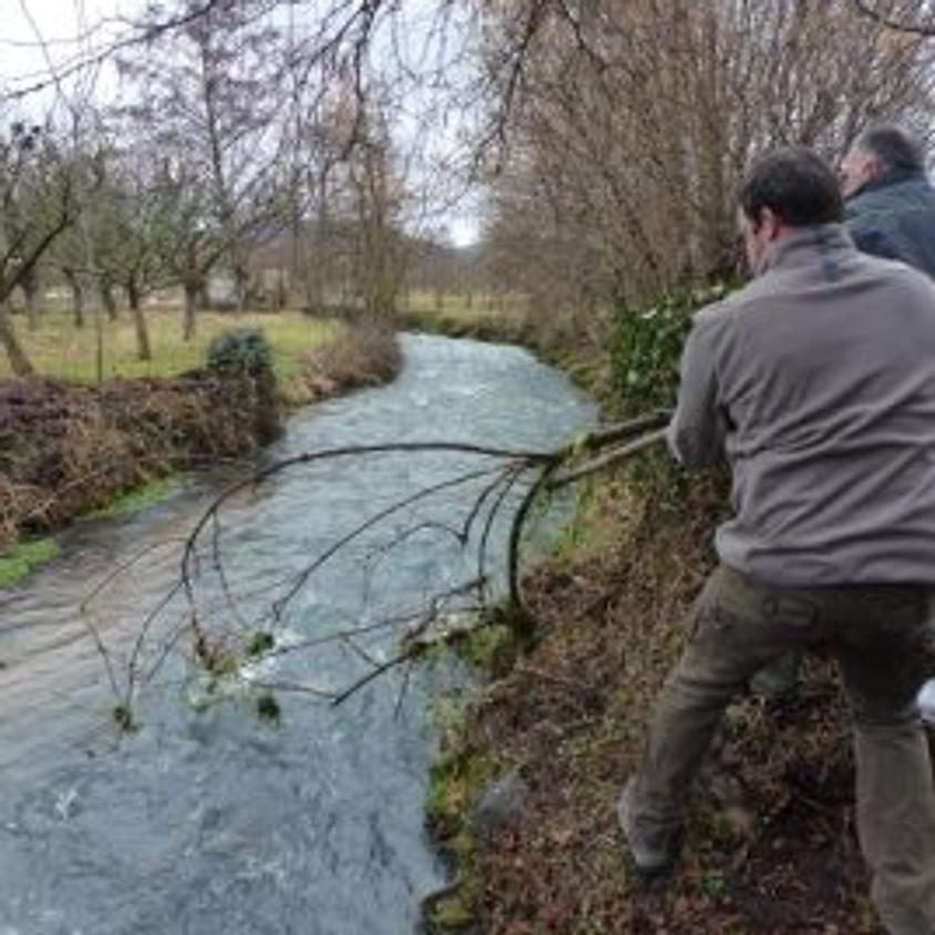 Nettoyage des rivières de Tallende le 25 février 2017 (1)