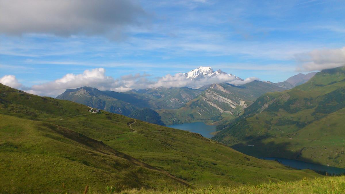 Le Mont Blanc (depuis le Beaufortain)