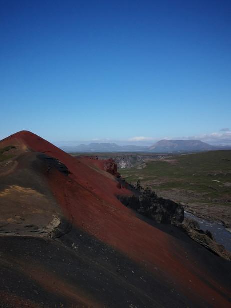 Islande montagne de rodholar