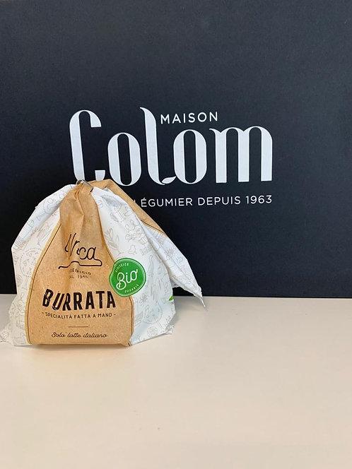 Burrata BIO (vendu par de lot de 125g)