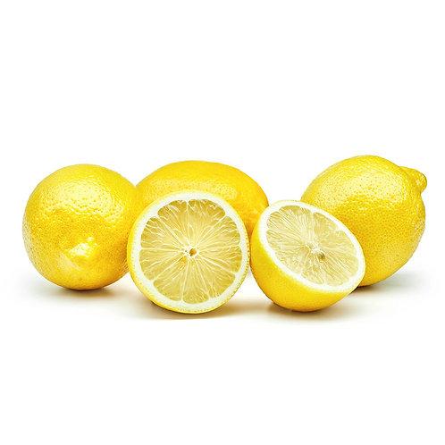 Citron jaune Bio (vendu par lot de 6 pièces)
