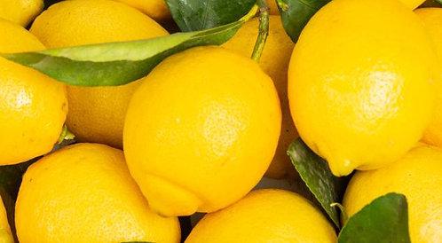 Citron jaune feuille non traité (vendu au kilo)
