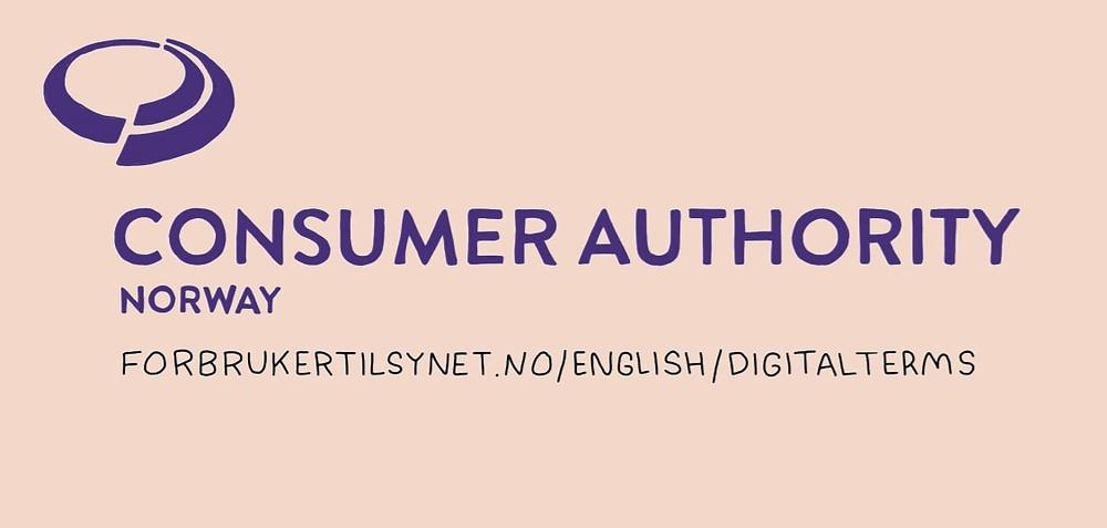 Consumer Authority Norway logo advertising