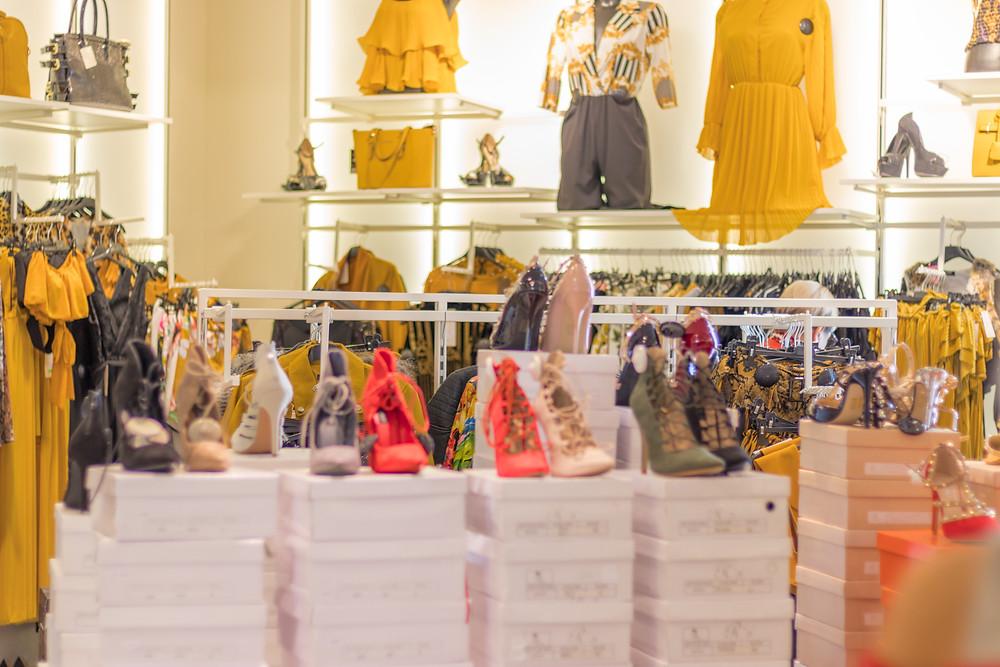 Fast fashion shop floor