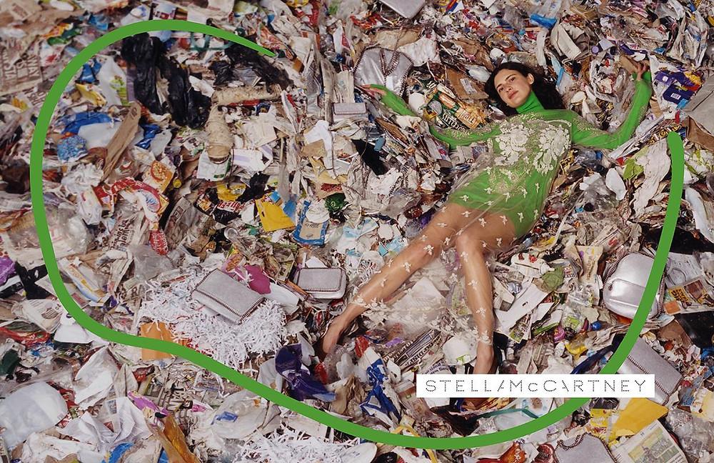 Fast fashion photoshoot Stella McCartney