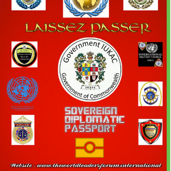 SOVEREIGN DIPLOMATIC PASSPORT FOR OUR VIP NETWORK MEMBERS, CREDIBLE AND AUTHENTIC DIPLOMATS ONLY !!