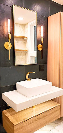 modern bathroom in san francisco