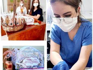 Santa Casa realiza exames Papanicolau em colaboradoras para prevenir o câncer de colo de útero