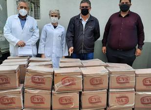 Santa Casa recebe como doação 1500 máscaras N95 nesta segunda-feira